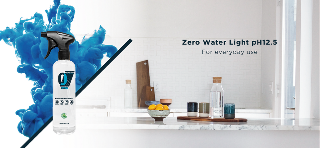 Zero-water Light pH12.5 | Alkaline Water Ions | Green Label Safe Cleaner