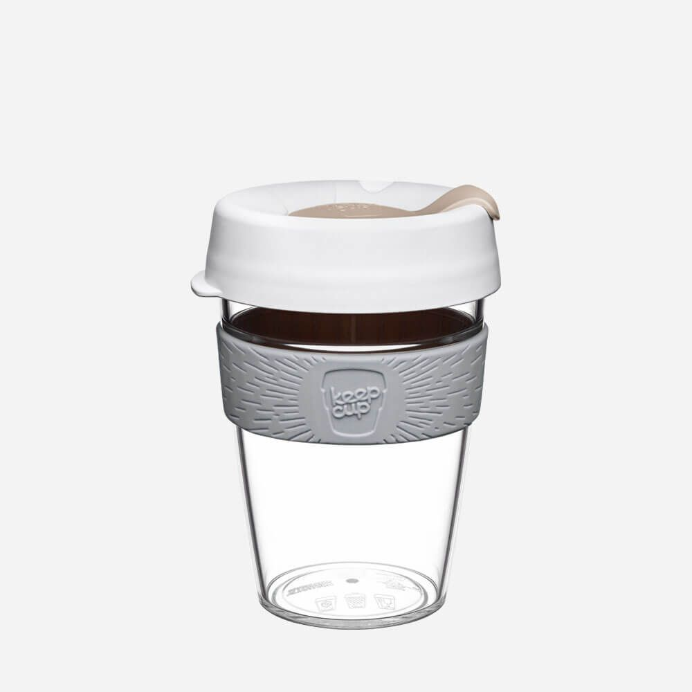 KeepCup-Clear-Edition 12oz  | Reusable Cup | Tritan Clear Plastic