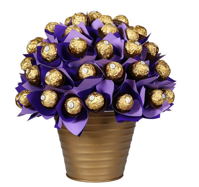 Chocolate Bouquet Basket (40 Pc Chocolates)
