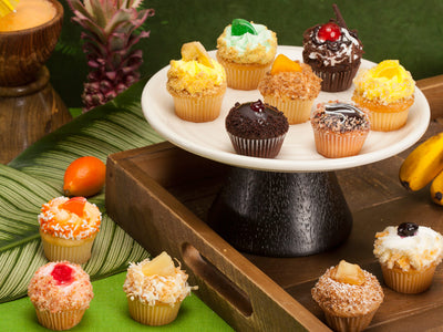 A Cornucopia of fruit flavored cupcakes for the Fruit Lovers out there!