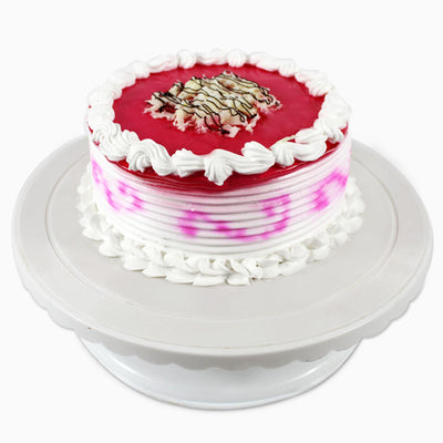 Round Strawberry Cake - 1/2 KG
