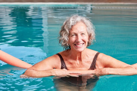 Older adults should go swimming