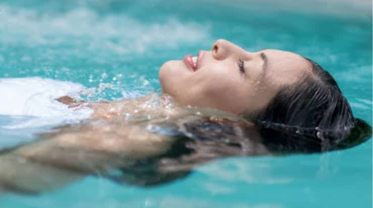 Swimming also help regulate breathing