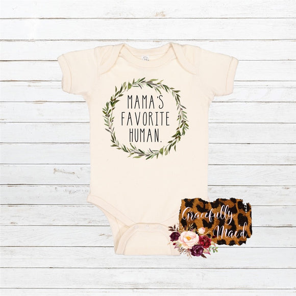 Mama's Favorite - Eucalyptus  - Baby Clothing - Farmhouse Apparel - Infant Apparel