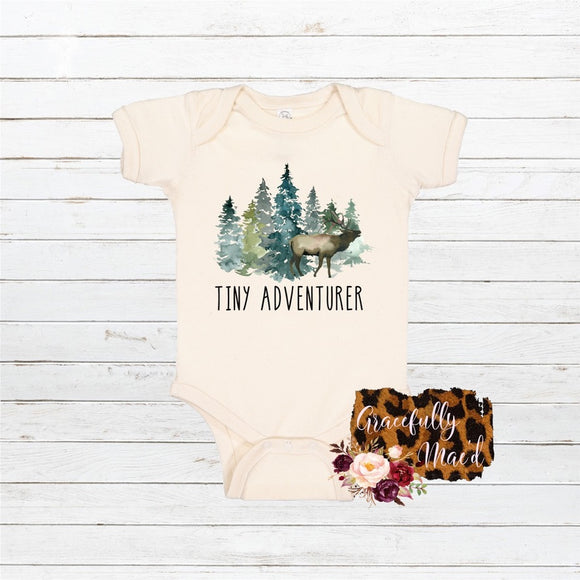 Tiny Adventurer - Baby Clothing - Farmhouse Apparel - Country Babes
