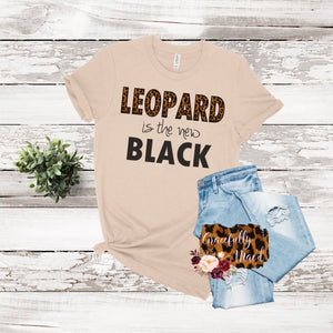 Leopard is the new Black - Leopard Trends- Boutique Tees