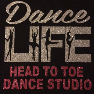 Head to Toe Dance Studio Hoodie