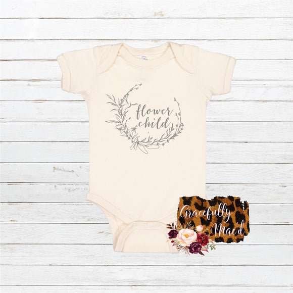 Flower Child - Baby Clothing - Farmhouse Apparel - Boho Baby