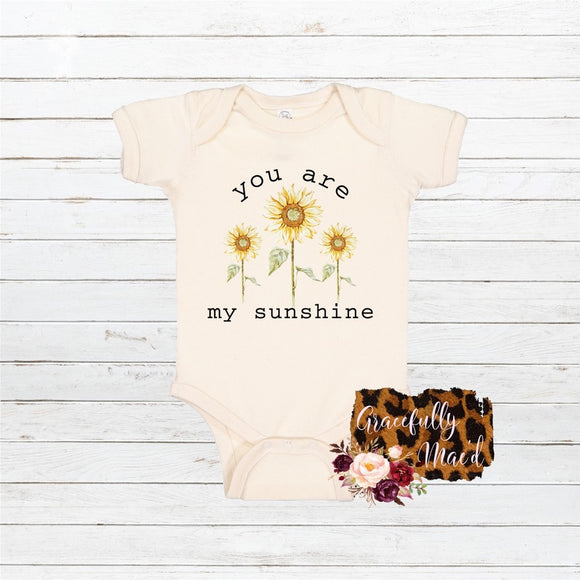 You are my sunshine - Baby Clothing - Farmhouse Apparel - Infant Apparel