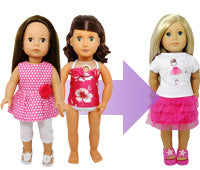Match your doll type