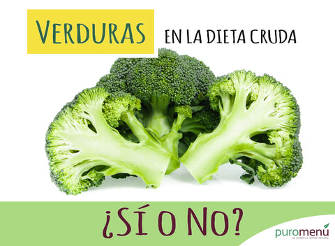 Dieta Natural Cruda: ¿Verduras sí o no?