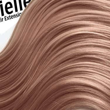 Metallic colored hair extensions miellee hair extensions rose gold pmusecretfo Choice Image
