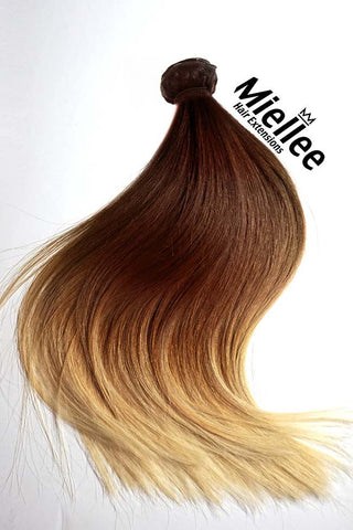 Cinnamon Red Weave Extensions | Silky Straight Remy Human Hair