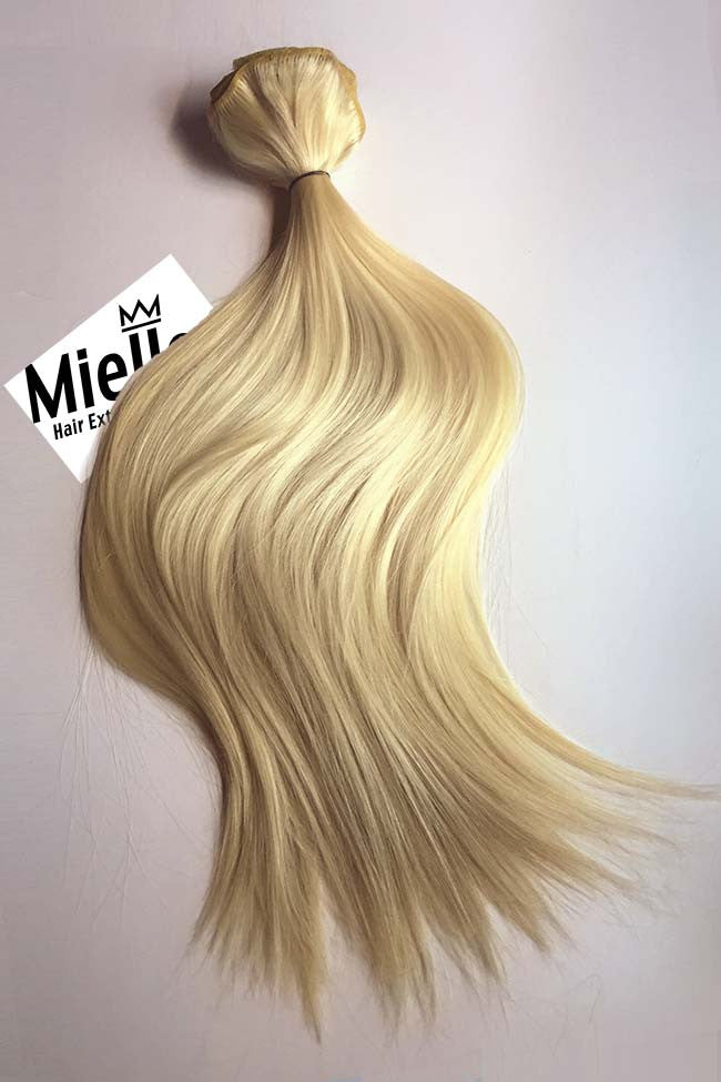 Weaving hair extensions butter blonde 613 silky straight butter blonde weave extensions silky straight remy human hair pmusecretfo Image collections
