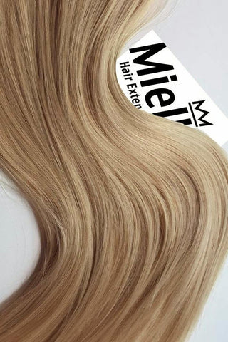 Butterscotch Blonde Full Head Clip Ins | Silky Straight Remy Human Hair