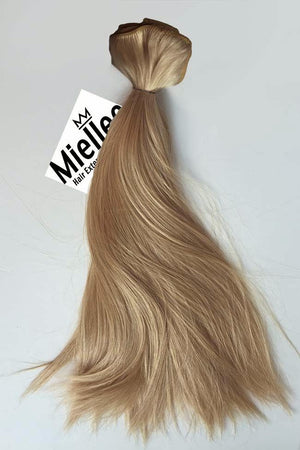 Butterscotch Blonde Weave - Silky Straight - Remy Human Hair