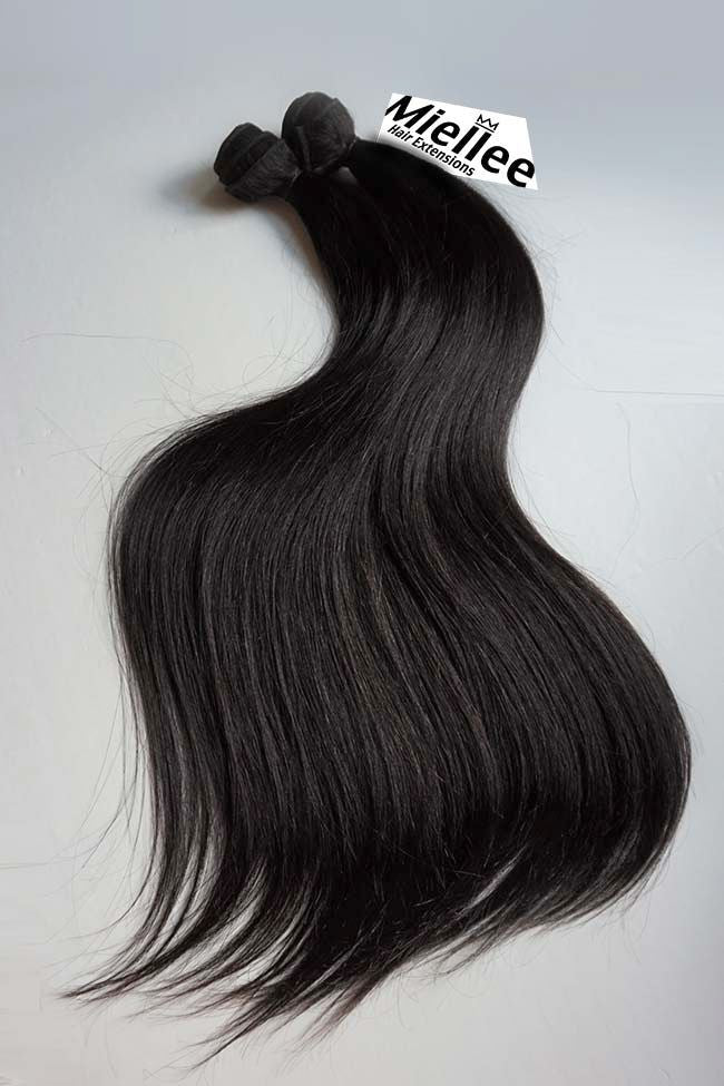 Cocoa Brown Weave Extensions | Silky Straight Remy Human Hair