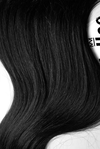 Espresso Black Seamless Tape Ins | Beach Wave Remy Human Hair