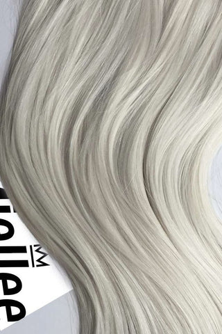 Frosty Blonde Weave Extensions | Beach Wave Remy Human Hair