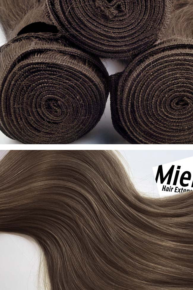 Hazelnut Brown Weave Extensions | Silky Straight Remy Human Hair