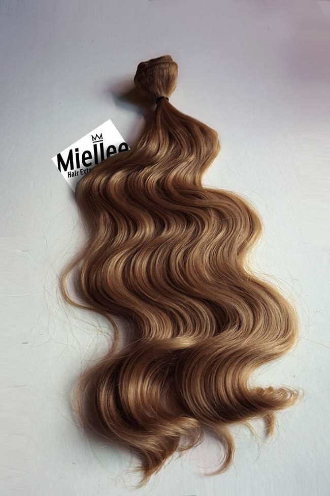 Maple Brown Weave Extensions | Beach Wave Remy Human Hair