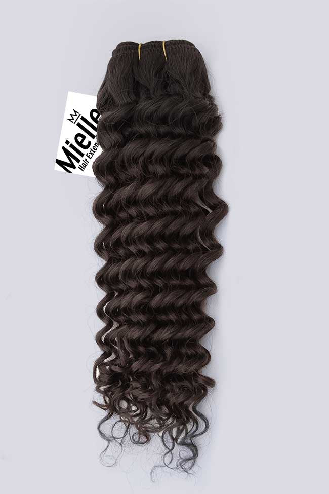 Virgin Brown Weave - Deep Curl - Virgin Human Hair