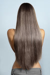 Smokey Brown Weave - Beach Wave - Remy Human Hair