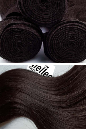 Mocha Brown Wefts - Wavy Hair