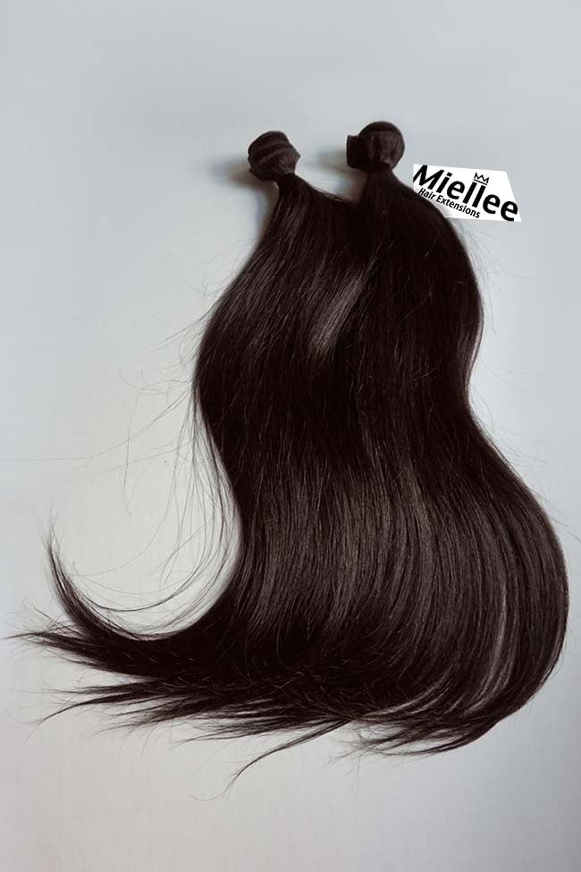 Mocha Brown Wefts - Straight Hair