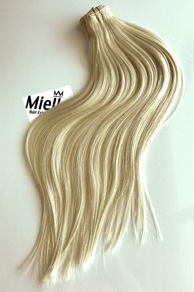 Natural Blonde Weave Extensions | Silky Straight Virgin Human Hair