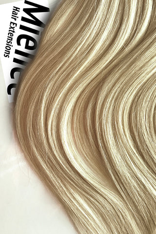 Natural Blonde Weave Extensions | Deep Curl Virgin Human Hair