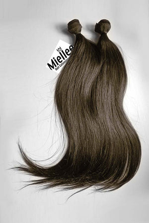 Grizzly Brown Weave Extensions | Silky Straight Remy Human Hair