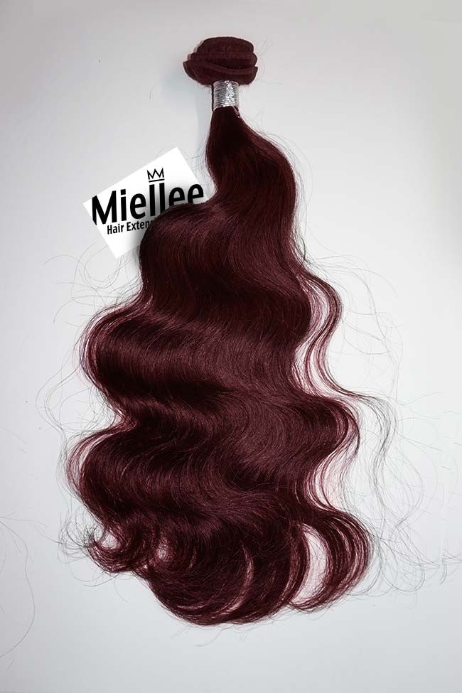 Sherry Red Wefts - Wavy Hair