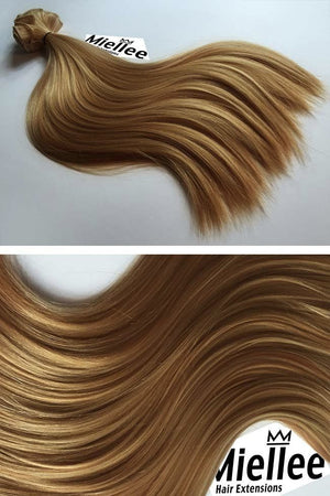 Honey Blonde Weave - Silky Straight - Remy Human Hair
