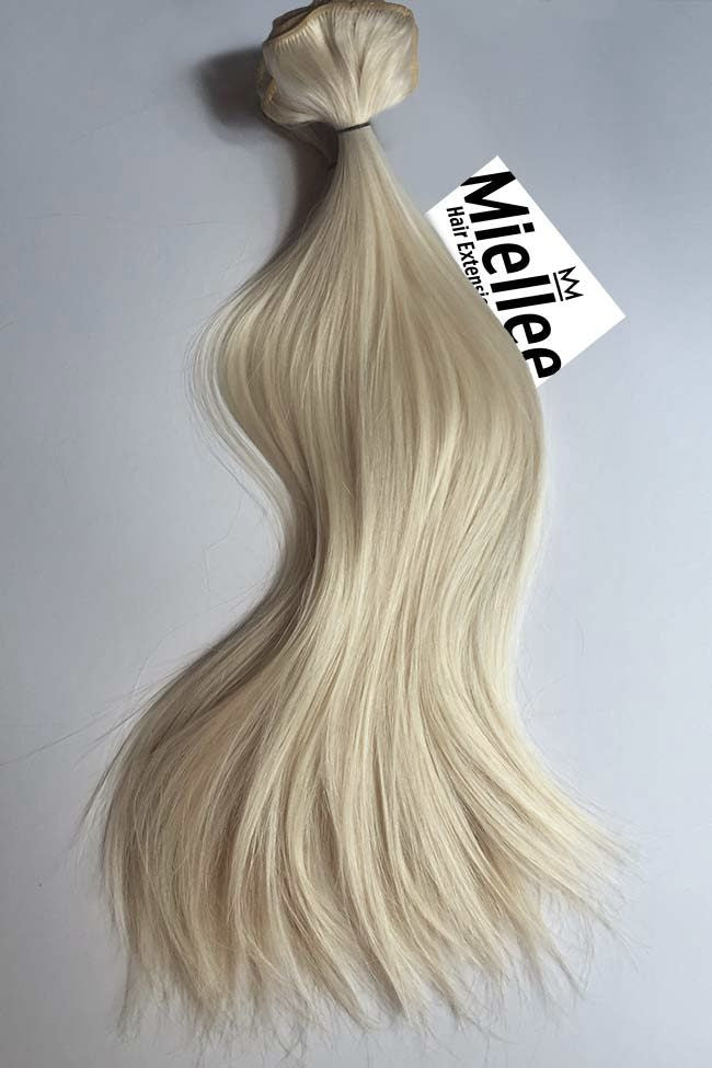 Vanilla Blonde Weave Extensions | Silky Straight