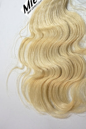 Virgin Blonde Weave - Beach Wave - Virgin Human Hair