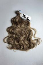 Willow Brown Seamless Tape Ins - Wavy Hair