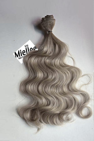 Wheat Blonde Weave - Beach Wave - Remy Human Hair