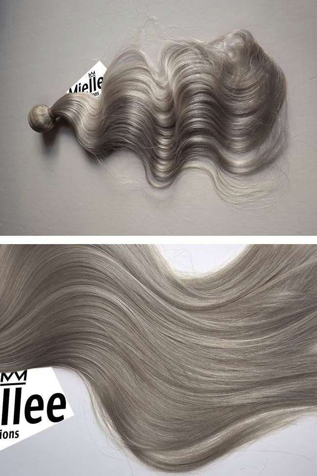 Wheat Blonde Weave Extensions | Beach Wave Remy Human Hair