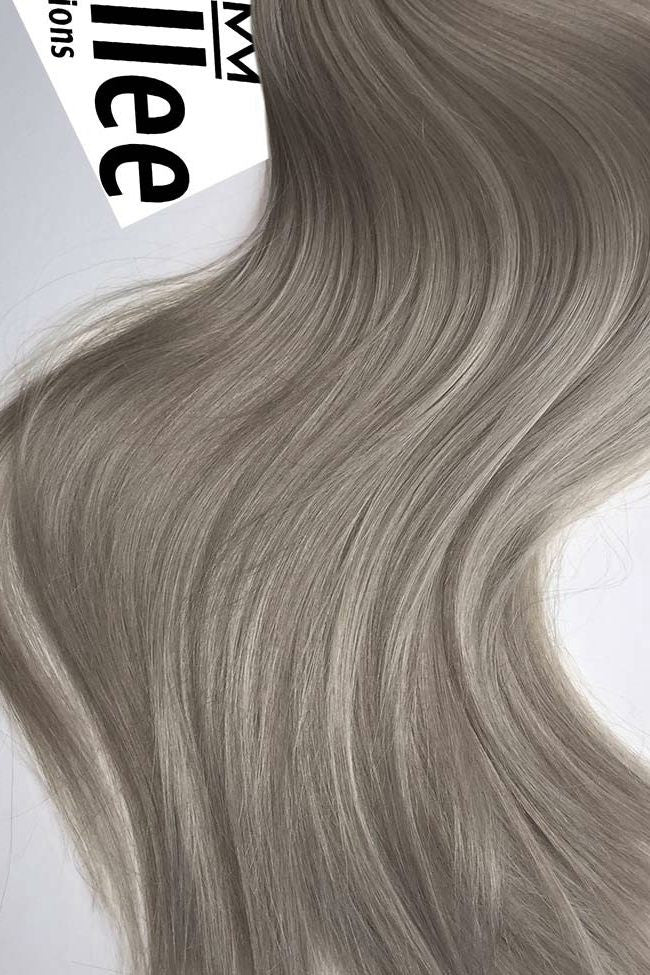 Wheat Blonde Full Head Clip Ins | Silky Straight Remy Human Hair