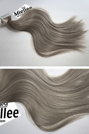 Wheat Blonde Tape Ins - Silky Straight - Remy Human Hair