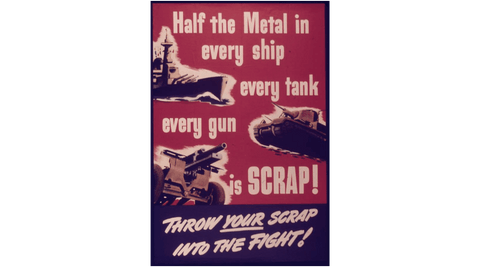 The Recycling Myth - war poster