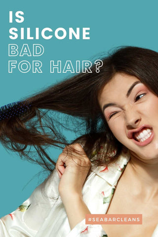 is silicione bad for hair image to share on pinterest
