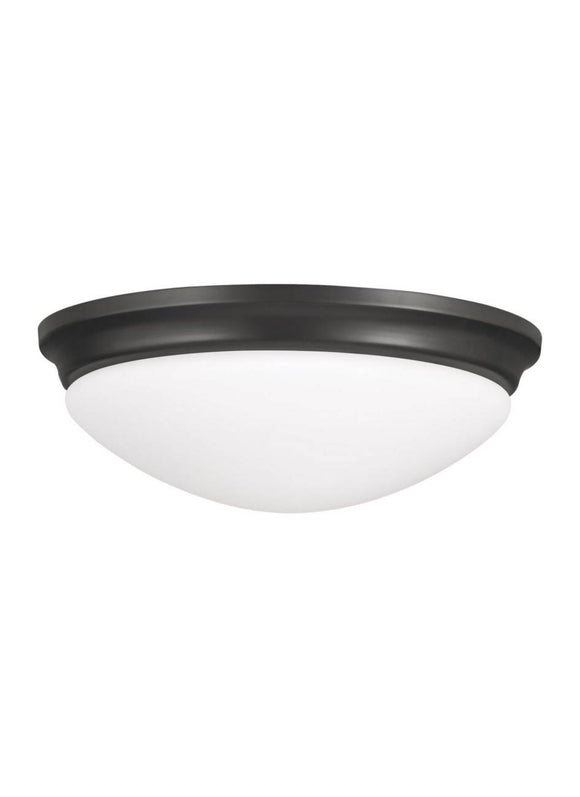 FM271ORB Barrington Oil Rubbed Bronze 1-Light Flush Mount