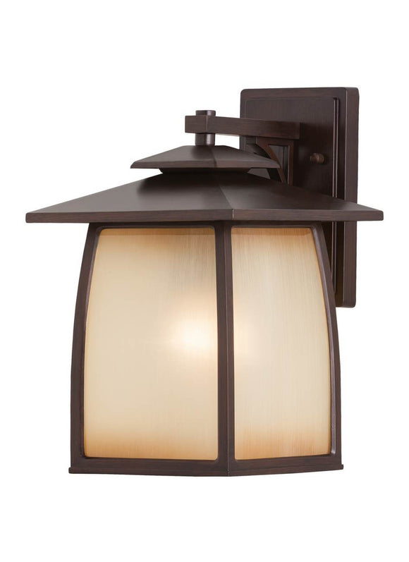 OL8502SBR Wright House Sorrel Brown Large 1-Light Outdoor Wall Lantern