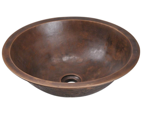 Polaris P159 Single Bowl Bronze Bathroom Sink