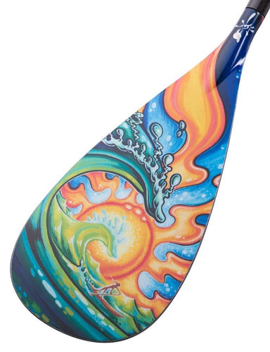 SEA Design A4   Rubber Edge SUP Paddle Design by Drew Brophy - 95 Square Inch Blade - Hornet Watersports