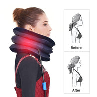 Cervical Air Neck Stretcher - Instant Relief And Correct Neck Posture