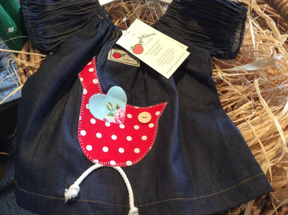 Applehouse Denim Birdie Tunic