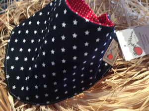 French Navy Star bib/scarf